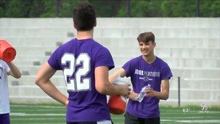 Ohio high school athletes begin socially distant practices