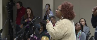 Community members speak out at CCSD town hall meeting
