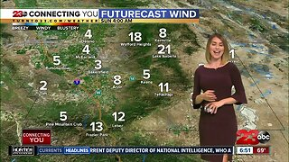 Cool down and fresh breeze headed into weekend