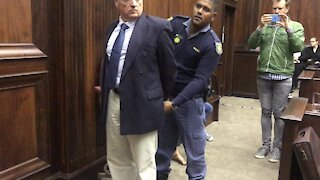 SOUTH AFRICA - Cape Town - Rob Packham murder trial (video) (LSR)