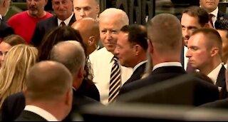 HYPOCRITE Biden Caught Mingling Maskless With Dozens