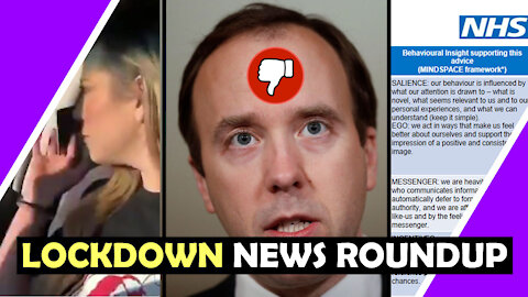 NHS Psy Ops Nudge / Lockdown News Roundup / Hugo Talks #lockdown