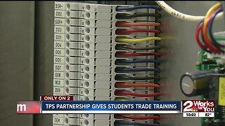 TPS partnership gives students trade training