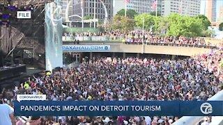 Pandemic's impact on Detroit tourism