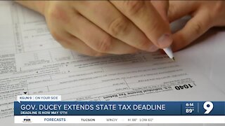 Arizona extends state tax filing deadline to May 17