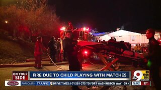 FD: Child playing with matches caused two-alarm apartment fire