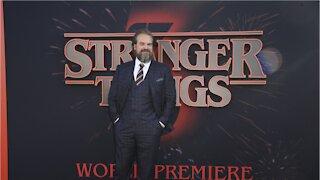 "David Harbour Talks About ""Stranger Things"" Season 4"