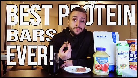 How to make homemade no-bake protein bars