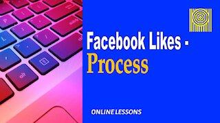 Facebook Likes-Process