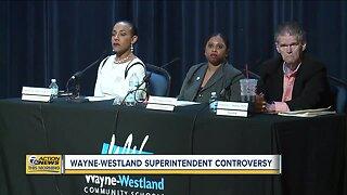 Wayne-Westland superintendent controversy