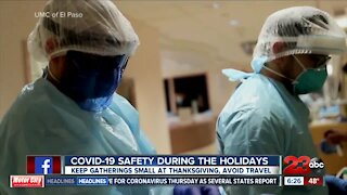 CDC COVID-19 safety during the holidays
