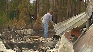 Wildfire victims plan to rebuild despite challenges: 'I can't imagine going anywhere else'