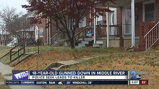18-year-old gunned down in Middle River