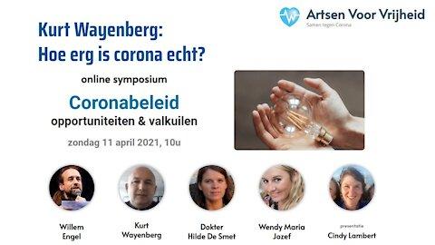 Kurt Wayenberg - Symposium Artsen Voor Vrijheid 11 april 2020