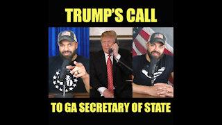 Trump's Call To Georgia Secretary of State