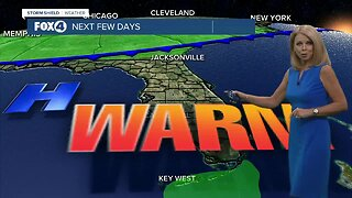 Warm and dry weekend could push temps into record territory!