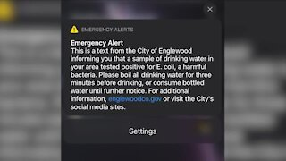 Englewood issues boil water advisory for portion of city after E. coli found in water