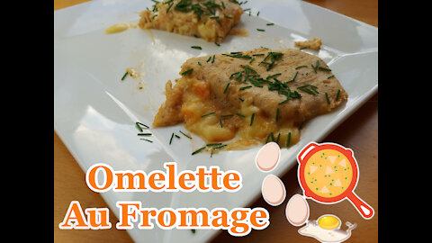 Omelette With Cheese (Omelette Au Fromage)