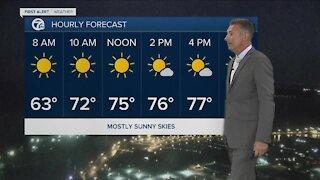 7 First Alert Forecast 5am Update, Tuesday, August 3