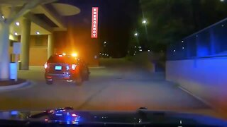 WATCH: Dearborn police chase suspect who stole patrol vehicle after fight