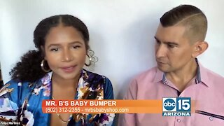 Local inventors design product called Mr. B's Baby Bumper