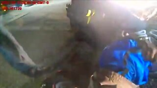 Body camera footage shows Aurora officers tackling, using Taser on man