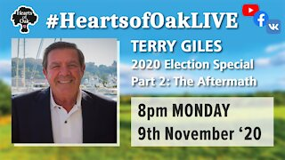 Trump 2020 US Election aftermath special with Terry Giles.9.11.20
