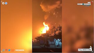 Explosion at West Virginia chemical plant.