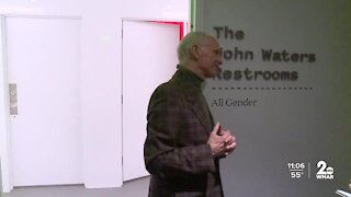 Baltimore Museum of Art dedicates gender neutral bathroom to John Waters