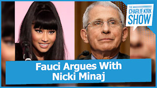 Fauci Argues With Nicki Minaj