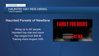 Haunted Forests of Newfane Hiring