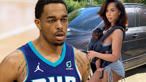 PJ Washington Shares SAD Posts About IG Model Baby Mama Brittany Renner Not Letting Him See His Son