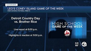 Detroit Country Day vs. Brother Rice is Leo's Coney Island Game of the Week