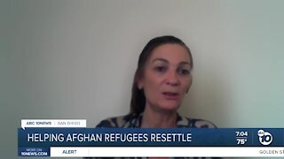 Local organizations helping afghan refugees