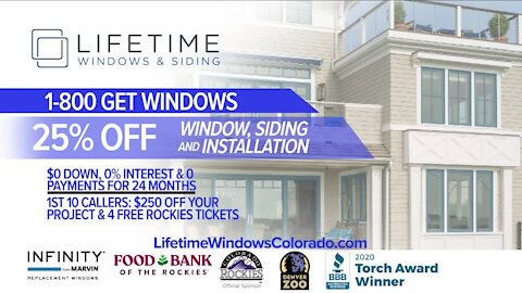 Great Deals On Home Improvement! // Lifetime Windows & Siding