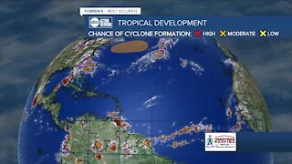Tracking the Tropics   October 25 morning update