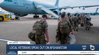 San Diego veterans speak out on Afghanistan