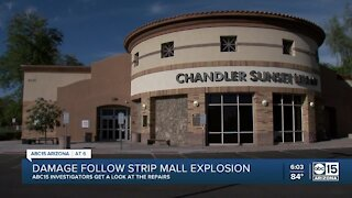 Damaged Chandler library won't reopen until 2021