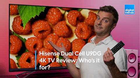 Hisense Dual Cell U9DG 4K TV Review   Who's it for?