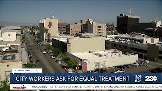 Bakersfield City workers seek pandemic bonus