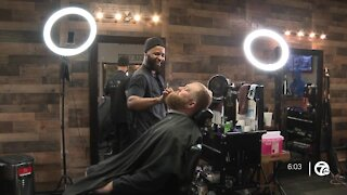 Barber cuts hair for 24 hours to raise money for charity