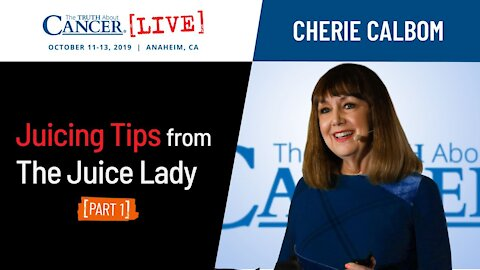 Juicing Tips from The Juice Lady (Part 1)   Cherie Calbom at TTAC LIVE 2019