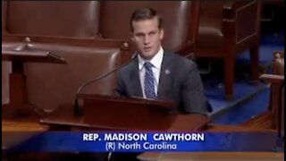 Madison Cawthorn: Madam Speaker YOU are not God!
