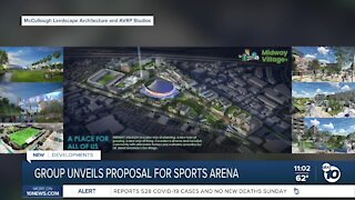 Group unveils proposed plans fro Sports Arena