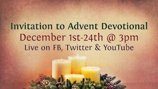 Advent Devotional Invite