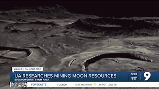 NASA grants UArizona $500,000 to research mining lunar resources
