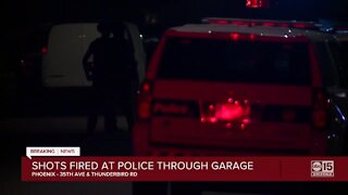 Police working barricade, shooting situation in Phoenix