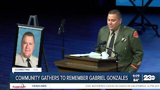 Loved ones share stories during Deputy Gonzales Funeral
