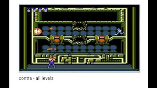 contra - all levels