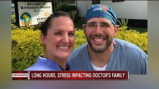 Doctor working on front lines against COVID-19 shares experience and sacrifices his family has made